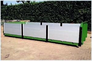 Containers-met-aluminium-borden